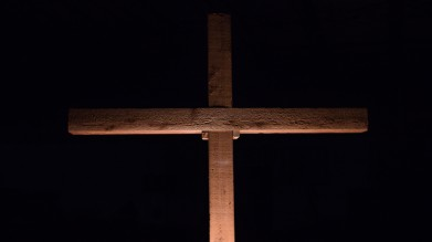 Cross Of Christ Religious Stock Photo